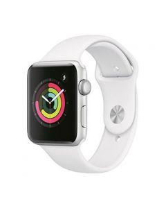 Apple Watch S3 42mm Silver Alum Case w/ White Sport Band [LMS9991]