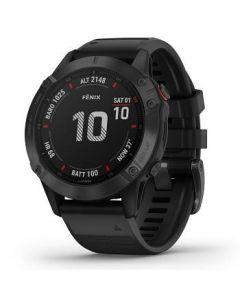 Garmin™ Garmin Fenix 6 Pro Smartwatch - Black w/Black Band [LMS10518]