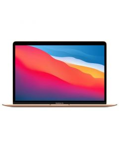 "Apple - MacBook Air 13.3"" Laptop - Apple M1 chip - 8GB Memory - 256GB SSD (Latest Model) - Gold"