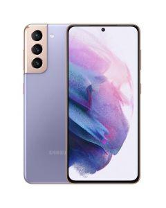 Samsung - Galaxy S21+ 5G 128GB (Unlocked) - Phantom Violet [SM-G996UZVAXAA]
