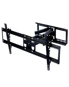 MegaMounts Full Motion Articulated Tilt and Swivel Television Wall Mount for 37-60 Inch Screens with Bubble Level