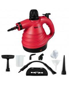 1050W Portable Multipurpose Pressurized Handheld Steam Cleaner-Red
