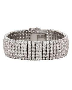 Cubic Zirconia Elegance Formal Bracelet