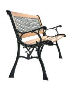 Outdoor Cast Iron Patio Bench