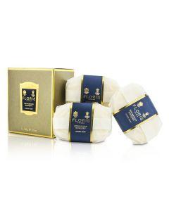 Floris Edwardian Bouquet Luxury Soap 3x100g/3.5oz