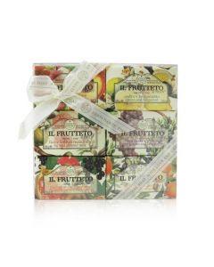 Nesti Dante Il Frutteto Soap Gift Set (#Peach & Lemon, #Citron & Bergamot, #Fig & Almond Milk, #Red Grapes & Blueberry, #Pomegranate & Blackcurrant, #Olive Oil