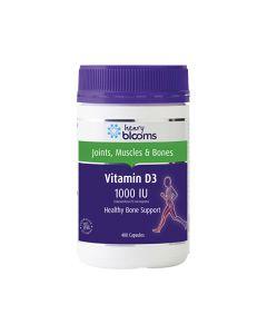 Henry Blooms Vitamin D3 1000 IU 400c
