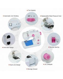 2-Speed Multi-function Fashion Portable Sewing Machine