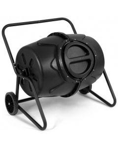 50 Gallon Wheeled Compost Tumbler Garden Waste Bin