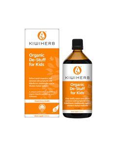 Kiwiherb Organic De-Stuff for Kids Oral Liquid 200ml