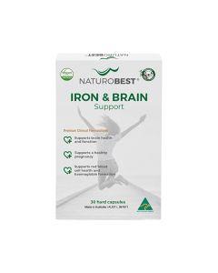 NaturoBest Iron & Brain Support 30c
