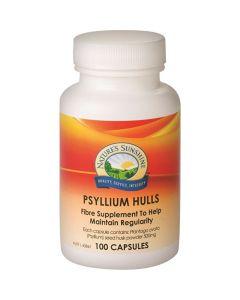 Nature's Sunshine Psyllium Hulls 500mg 100c