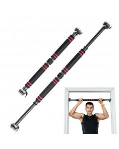 Pull Up Doorway Adjustable Chin Up Bar No Screw with Locking Mechanism