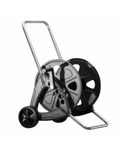 Steel Garden Hose Reel Cart Holds